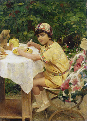 Jack In The Garden Poster