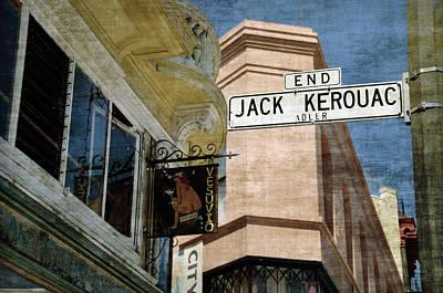 Jack Kerouac Alley And Vesuvio Pub Poster by RicardMN Photography