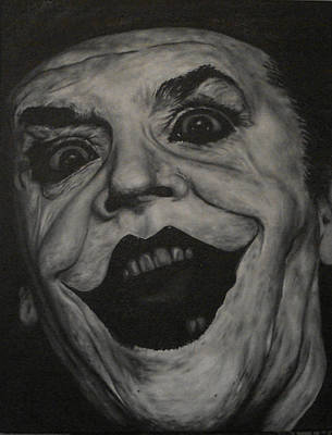 Poster featuring the painting Jack Nicholson by David Dunne