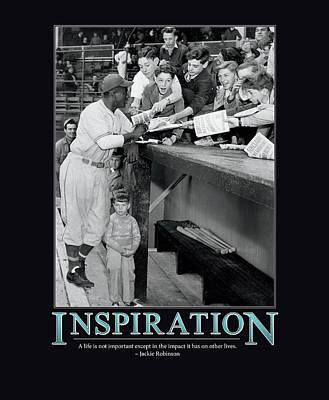 Jackie Robinson Inspiration Poster