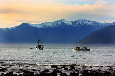 Poster featuring the photograph Jackson Bay South Westland New Zealand by Amanda Stadther
