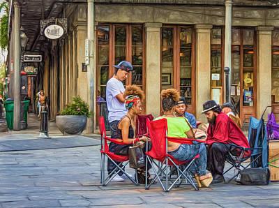 Jackson Square Reading 3 Poster