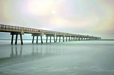 Jacksonville Beach Pier Poster