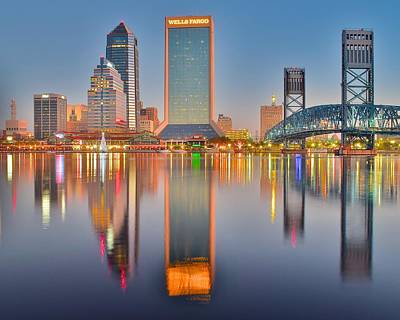 Jacksonville Eight By Ten Poster by Frozen in Time Fine Art Photography