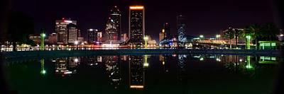 Jacksonville Panoramic Poster