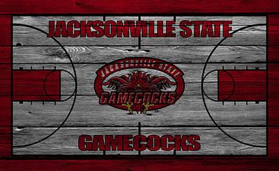 Jacksonville State Gamecocks Poster by Joe Hamilton
