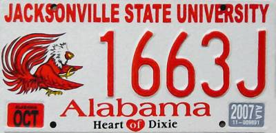 Jacksonville State University Poster by Lanjee Chee