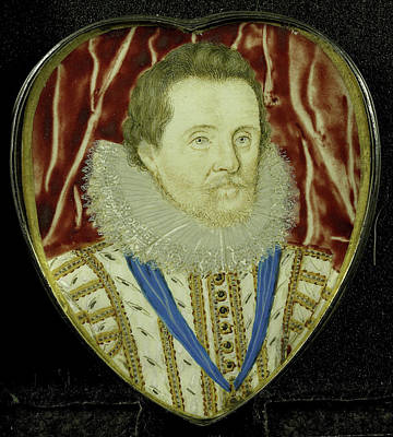 Jacobus I, 1566-1625, King Of England, Attributed Poster