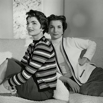 Jacqueline Kennedy And Lee Canfield Poster