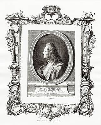 Jacques Bernoulli Poster by Print Collection, Miriam And Ira D. Wallach Division Of Art, Prints And Photographs/new York Public Library