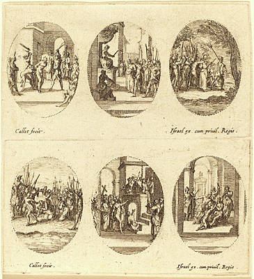 Jacques Callot, French 1592-1635, Mysteries Of The Passion Poster by Litz Collection