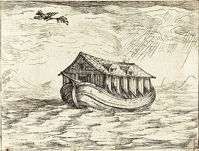Jacques Callot French, 1592 - 1635, Noahs Ark Poster