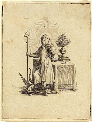 Jacques Callot French, 1592 - 1635, The Young Jesus Poster