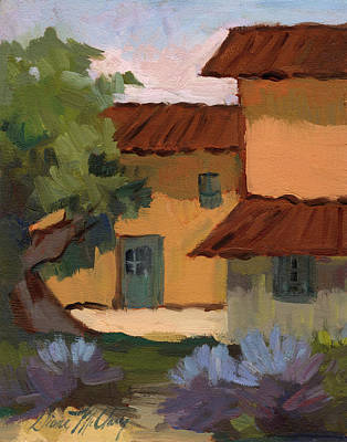 Jacques Farm In Provence Poster by Diane McClary