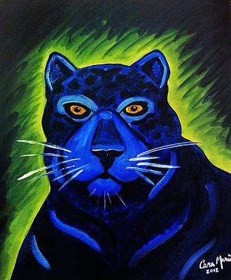 Jaguar Poster by Cara Marie Petrone