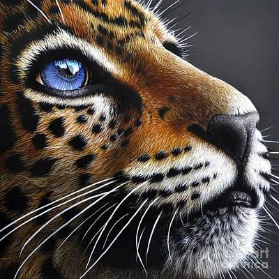 Jaguar Cub Poster
