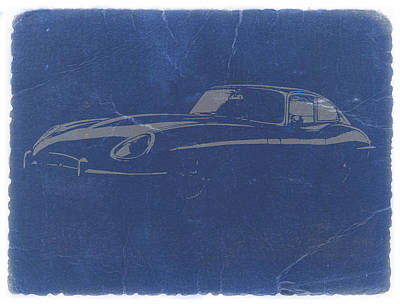 Jaguar E Type Poster by Naxart Studio