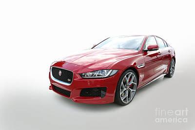 Jaguar Xe Poster by Roger Lighterness