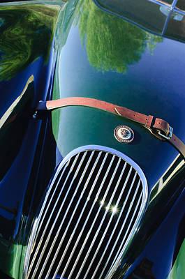 Jaguar Xk 120 Grille Poster