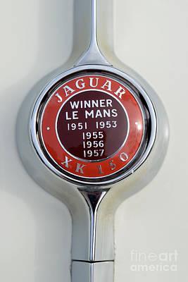 1957 Jaguar Xk 150 Poster
