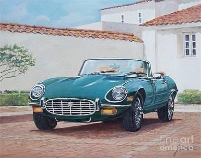 Jaguar Xke 1961-1975 Poster