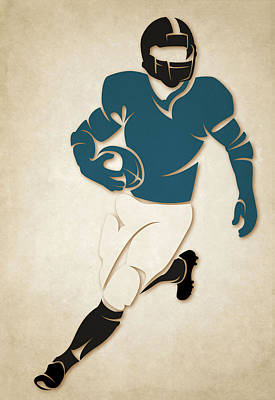 Jaguars Shadow Player Poster