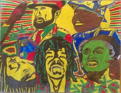 Jah Lions Poster by Ameer Earley
