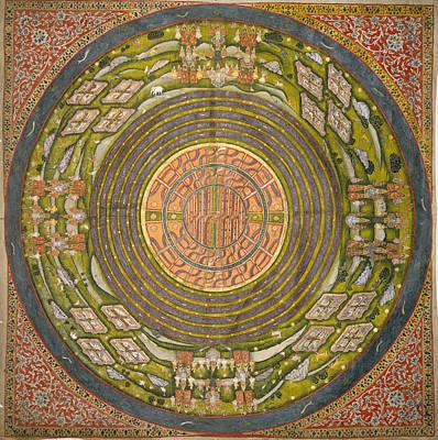 Jain Diagram Of The Universe Poster