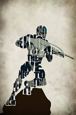 Jake Nomad Dunn Poster by Ayse Deniz