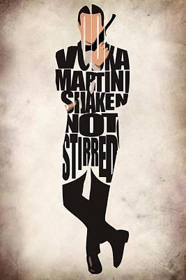 James Bond Poster by Ayse Deniz