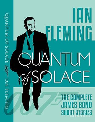 James Bond Book Cover Movie Poster Art 4 Poster