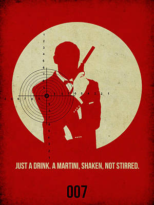 James Bond Goldenfinger Poster Poster