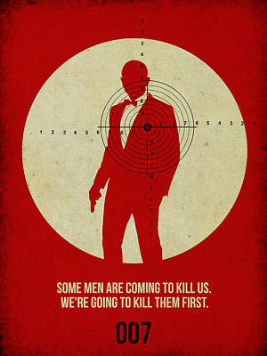 James Bond Skyfall Poster Poster