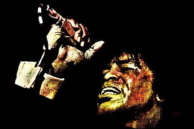 James Brown Poster by Dancin Artworks