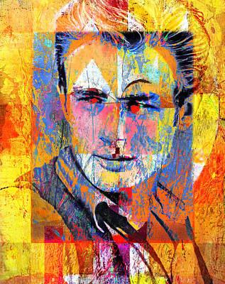 James Byron Dean Poster by Mal Bray