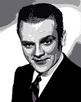 James Cagney - Pencil Poster by Doc Braham