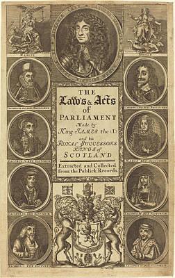 James Clark British, Active 1710-1720, Frontispiece Poster
