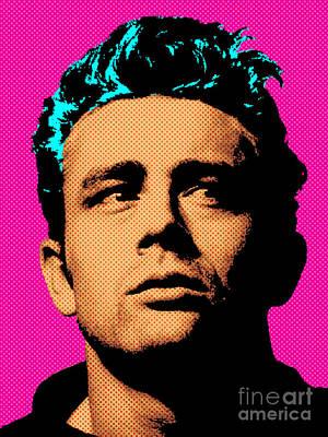 James Dean 001 Poster by Bobbi Freelance