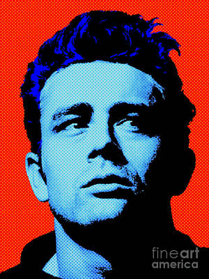 James Dean 005 Poster by Bobbi Freelance