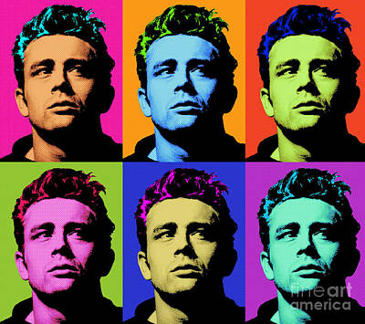 James Dean 006 Poster by Bobbi Freelance