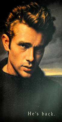 James Dean Poster by Jay Milo