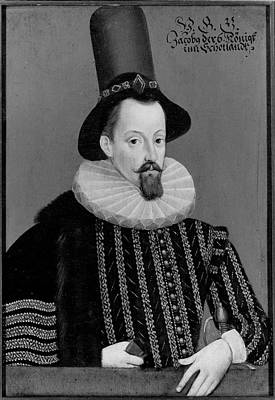 James I (1566-1625) King Of Great Poster