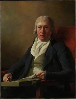 James Johnston Of Straiton Died 1841 Poster by Sir Henry Raeburn