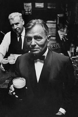 James Mason At A Pub In Dublin Poster by Richard Richards