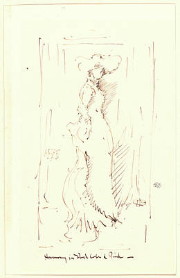 James Mcneill Whistler American, 1834 - 1903. Harmony Poster by Litz Collection