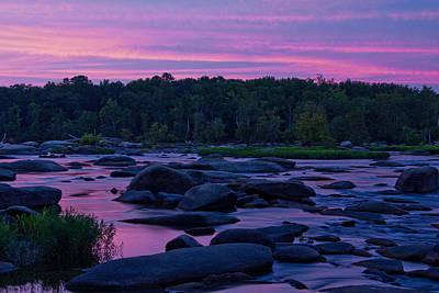 James River Sunset Poster by Jemmy Archer