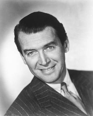 James Stewart Poster by Silver Screen
