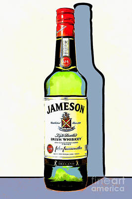 Jameson Irish Whiskey 20140916poster Poster by Wingsdomain Art and Photography