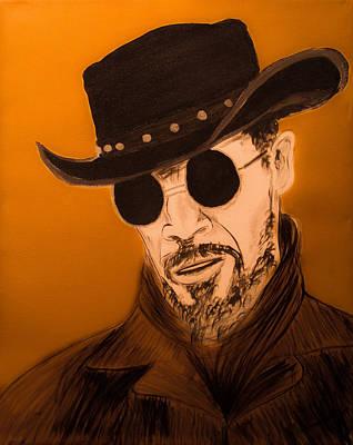 Jamie Foxx As Django Unchained Poster