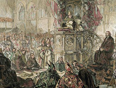 Jan Hus (1369-1415 Poster by Prisma Archivo